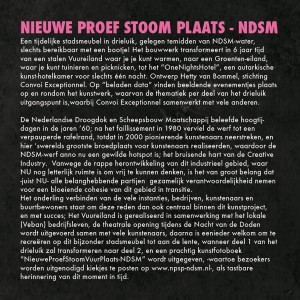 wat is de NPSP-NDSM