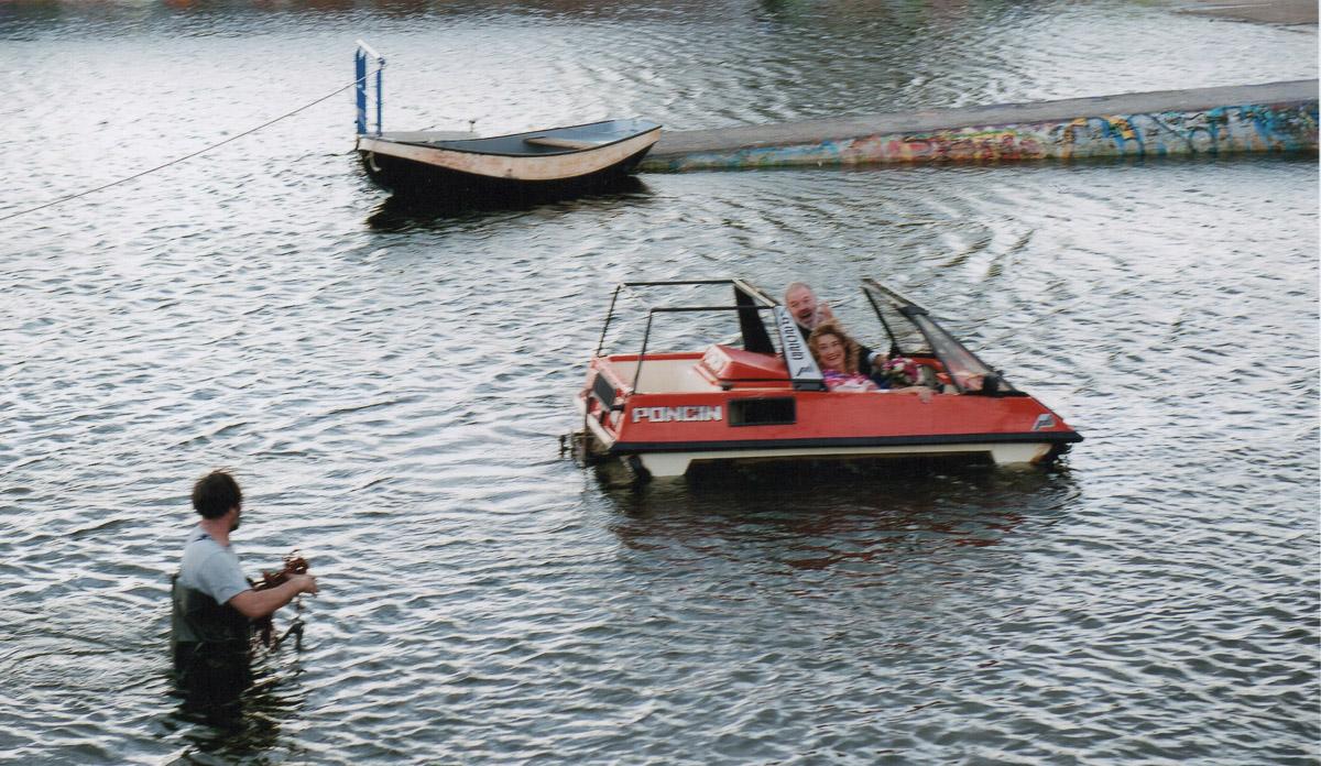 amfibi trouwvoertuig